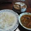 ラジャ - 料理写真:ベーコンと野菜のカレー
