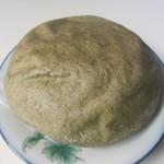 オーガニック広場 ひふみ - 玄米蒸しパン、国内産有機玄米使用したよもぎの香り豊かでふっくらもちもちした砂糖不使用のパンです。