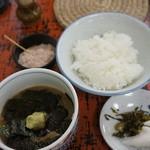 割烹よし田 - 鯛茶漬け