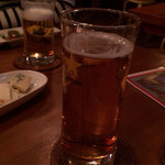 STEAK&BAR ハックルベリィ - ノンアルコールビア、奥、生ビール