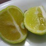 暁山 - お土産の酢橘@2009/10/17