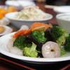 昇龍 - 料理写真:ランチセット 海老とブロッコリー800円