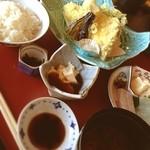 京料理 卯柳 先斗町 花 - 限定10食 天ぷら定食☺︎
