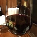 ビストロMER - 赤 グラス