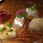 ビストロMER - 鮮魚のカルパッチョ