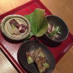鉄板焼 蒼 - 前菜3種