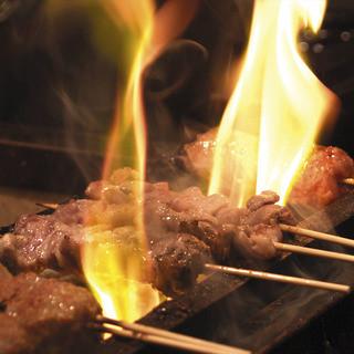 自慢の串料理をお楽しみください♪