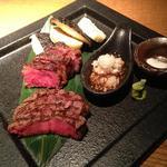 鉄板焼 蒼 - メインの肉