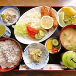 葵 - 葵定食(コーヒー付)750円