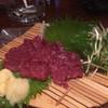 むさし - 料理写真:馬刺し