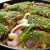 ちんちくりん - 料理写真:これを食べなきゃ〆れない!!絶品お好み焼!