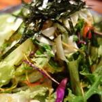 炭焼おっけい - おっけいサラダ(ハーフ)