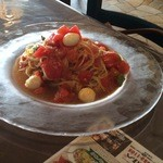 マルコのほっぺ - フレッシュトマトとモッツァレラチーズの冷製カッペリーニ