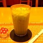 モスバーガー - ドリンク写真:アイス抹茶ミルク