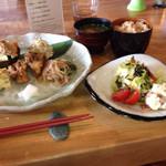 SOHSOH - 野菜たらふく玄米定食です