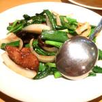 中華料理雲瀧 - レバニラ