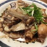 28132491 - 鯛のかぶと煮。良いお味付。850円。タイの子も肝もあります♪