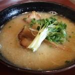 麺 匠仁坊 - 白湯こってり系「鶏そば」