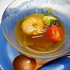 鯛八鮨 - 料理写真:海老と夏野菜の出汁ジェル