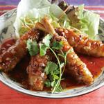 ニャー ヴェト ナム - 料理写真:豚肉のレモングラス巻き