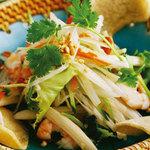 ニャー・ヴェトナム - 蓮の茎のサラダ