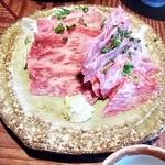 和風ステーキ 瑞季 - 料理写真:牛さしみ