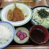 山田うどん - 料理写真:アジコロセット(650円)_2014-06-12