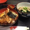 美の路 - 料理写真:ランチの天丼蕎麦セット780円