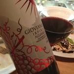 イタリア食堂&バル KIKUCHIYA - ナチュラルワインがグラスでリストオンされてます。