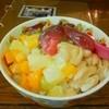 マノーラ - 料理写真:フルーツと豆の台湾かき氷