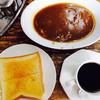 さかえや - 料理写真:カレー&トースト&コーヒー