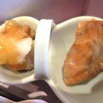 がんこ - 焼き鮭 鶏竜田揚げ