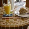 ル・ポミエ - 料理写真:ロールケーキ&リンゴジュース~☆