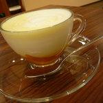 元町カフェ - かぼちゃミルク
