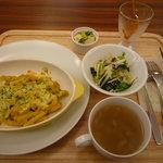元町カフェ - ランチ かぼちゃのグラタン