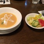 紅屋 - スープ、サラダ