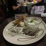 BACKPACKER'S CAFE 旅人食堂 - バースデープレート