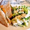 ココチ - 料理写真:塩こうじドレッシングをグリーンサラダに♪