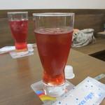ふくろうの森 - レモンハーブティー(アイス)