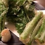 大吉丸 - 明日葉の天ぷら