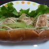 シェレンバウム - 料理写真:2014.6)金ごまからあげドック(302円)