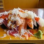中の濱 - こぼれぶっかけ寿司