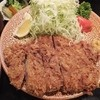 陣屋  - 料理写真:上ろーすかつ定食1,750円