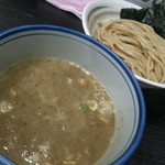 麺や ポツリ - 濃厚煮干つけ麺(並盛)