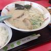 めんめん亭 - 料理写真:ラーメン定食ランチは580円に(^O^)