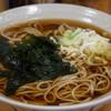 名代 富士そば - 料理写真:290えん『かけそば』2014.6