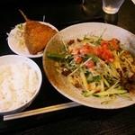 28352028 - ピリ辛冷麺セット