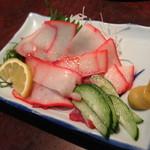 小料理荒井 - 鯨ベーコン(1,000円+税)2014年6月