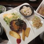 虎ノ門居酒屋 ふらっと - 和風ハンバーグ定食