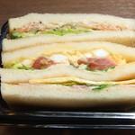 デリカフェ エキスプレス大阪 - プチボックスサンドイッチ¥300☆♪